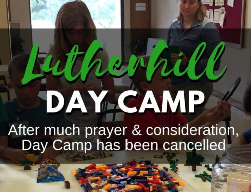 Lutherhill Summer Day Camp Cancelled