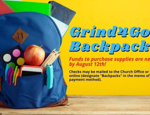 Grind4God Backpacks for School Children