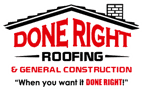 Done Right Roofing | College Station Roofing Company Logo